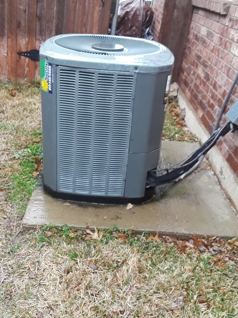 Fort Worth, TX - Heat tune up on a Trane Air Handler