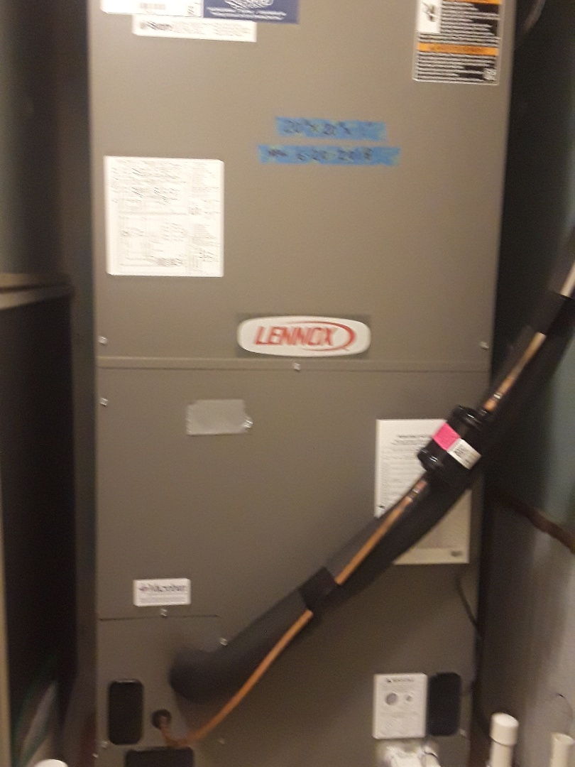 Saginaw, TX - Heat maintenance on a Lennox furnace