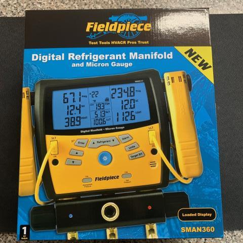 Carlstadt, NJ - Fieldpiece SMAN360 Digital manifold being sent out to CARLSTADT, NJ.