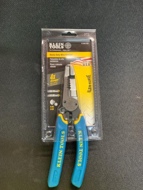 Moody, TX - Klein's heavy-duty wire stripper is built with the durability of pliers and the sharpness and precision of a wire stripper. This American-made tool provides durable wire cutting, stripping and twisting plus bolt shearing in one tool. On its way to Moody, TX.