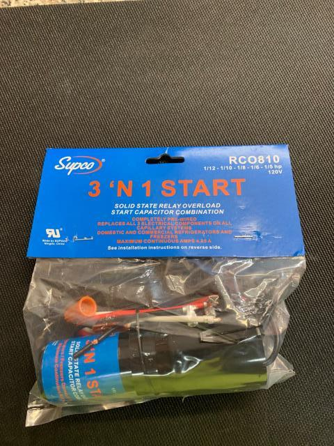 Baltimore, MD - Supco Branded 3 in 1 hard start kits are great for repairing home refrigeration appliances. Our customer in Baltimore, MD is sure going to appreciate the quality.