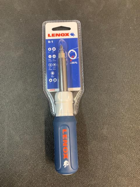 Brunswick, ME - Lenox 9 in 1 screwdriver offers a wide range of tips to accommodate for many needs. I am sure our customer in Brunswick, ME will enjoy it.