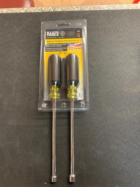 Chicago, IL - General purpose selection of the most frequently used nut drivers. Includes two nut drivers (Cat. No. 646-1/4M and 646-5/16M). Going out to the Windy City.