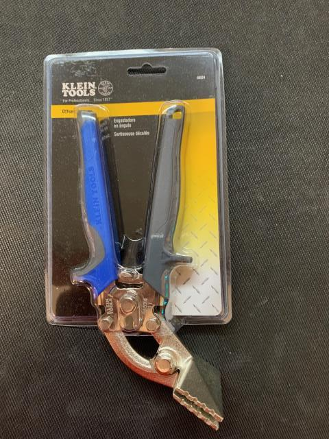 Detroit, MI - The Klein Tools Offset Hand Seamer makes working in confined spaces easy with the compound-leverage mechanism and convenient self-opening latch. On its way to Detroit, MI.
