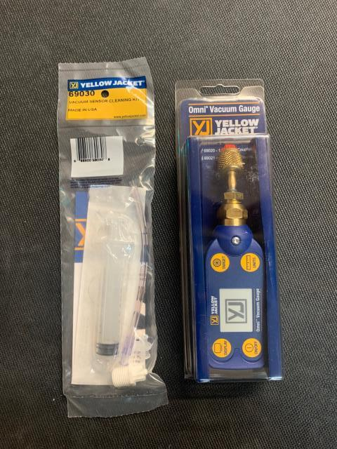 Brooklyn, NY - The YELLOW JACKET® Omni™ Digital Vacuum Gauge is an easy-to-use, compact vacuum gauge that is loaded with features for the price. And it's rugged, too. Off to the Big Apple.