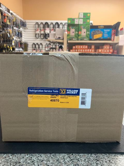 Long Beach, CA - Another quality Yellow Jacket Digital Manifold being shipped out to the great state of California.