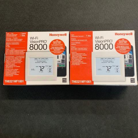 Peach Bottom, PA - Two Honeywell Wifi Vision Pro thermostats being sent out to Peach Bottom, PA.