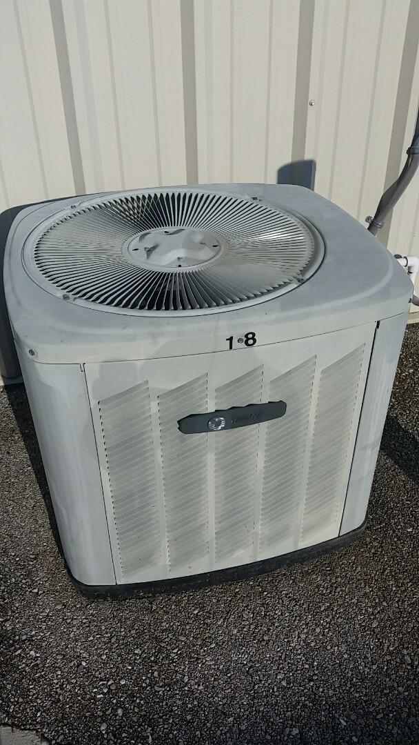 Sebring, FL - Replacing a fan motor on a trane condenser.