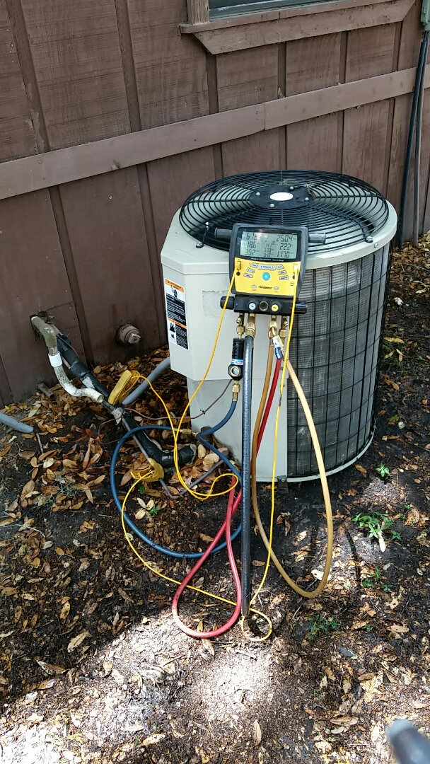 Mulberry, FL - Cleaned a very dirty condenser coil.