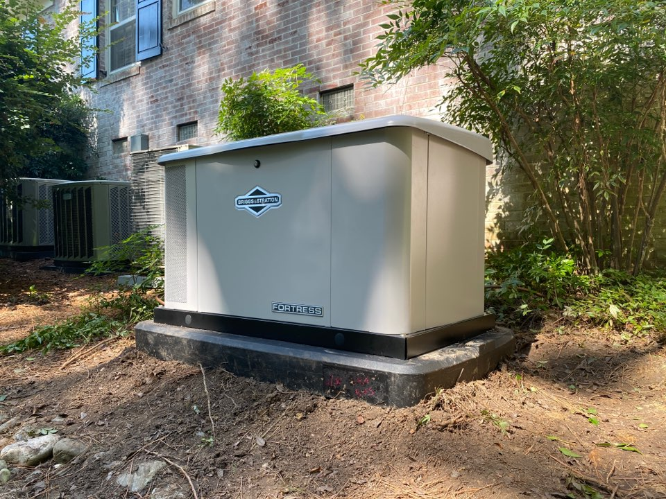 Installing Briggs and Stratton Whole Home Standby Generator
