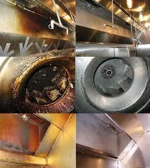 Burlington, NC - Kitchen Exhaust Cleaning service complete