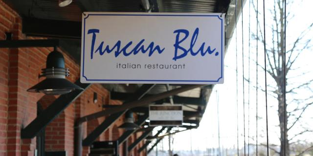 Raleigh, NC - Talking the benefits of a smoke free and cool kitchen with the Sous Chef at Tuscan Blu Italian Restaurant, Raleigh.