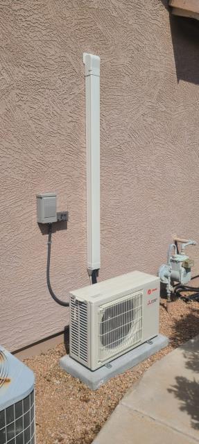 Chandler, AZ - Mini Split and insulation job in Chandler