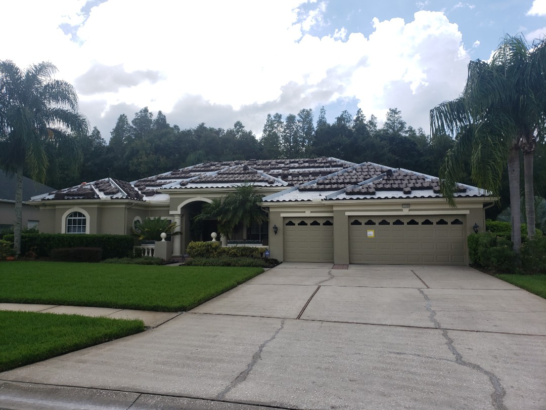 Lutz, FL - Tile roof replacement