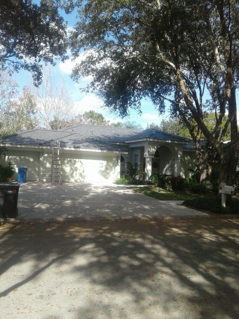 Tampa, FL - Tile re-roof