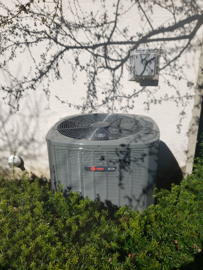 Westerville, OH - Performed preventative maintenance inspection on a Trane XR Air conditioner in Westerville, Ohio