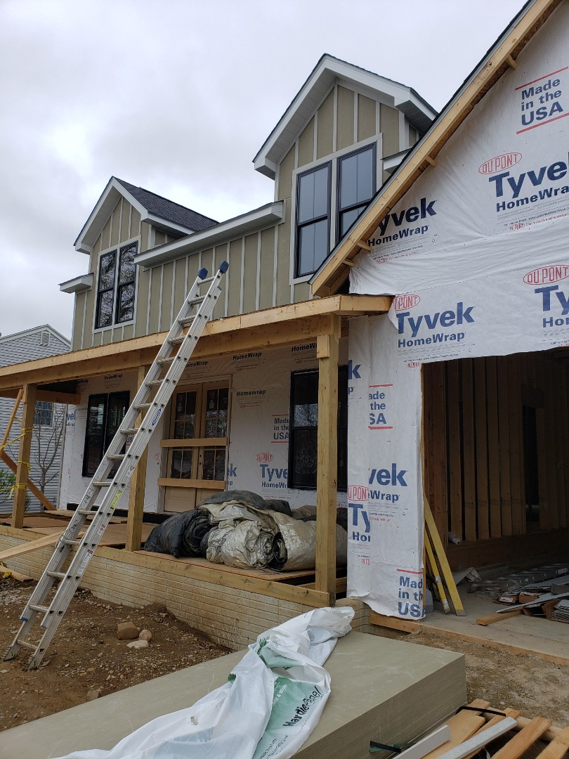 Worthington, OH - New construction home install near Worthington.