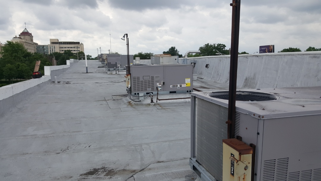 Columbus, OH - Ites Carrier Rooftop day at Western Air