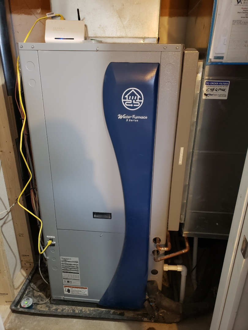 Grove City, OH - Waterfurnace 5 Series geothermal tune up.