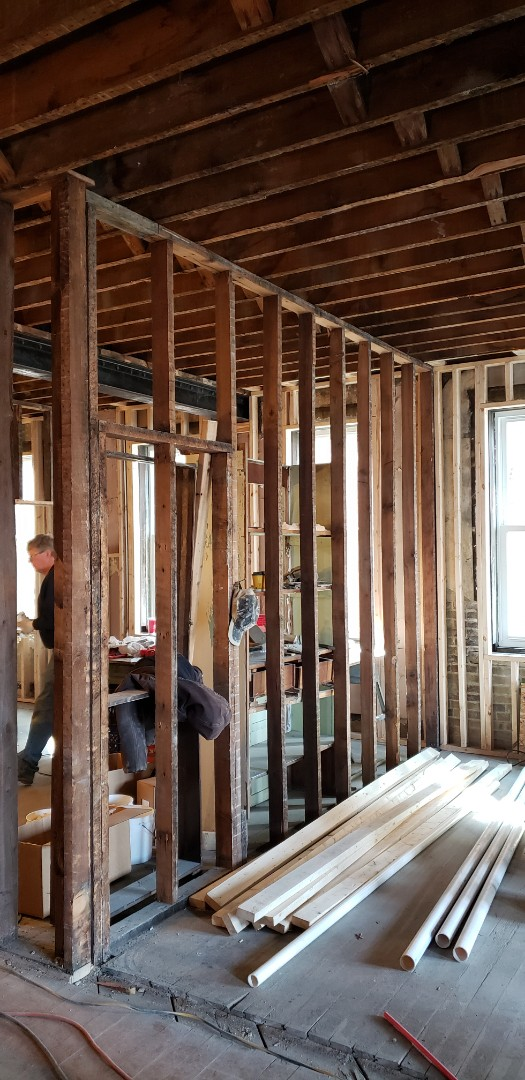 Delaware, OH - I stalling new HVAC system in old building Delaware Ohio