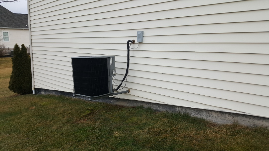 Heat pump service Ostrander Ohio