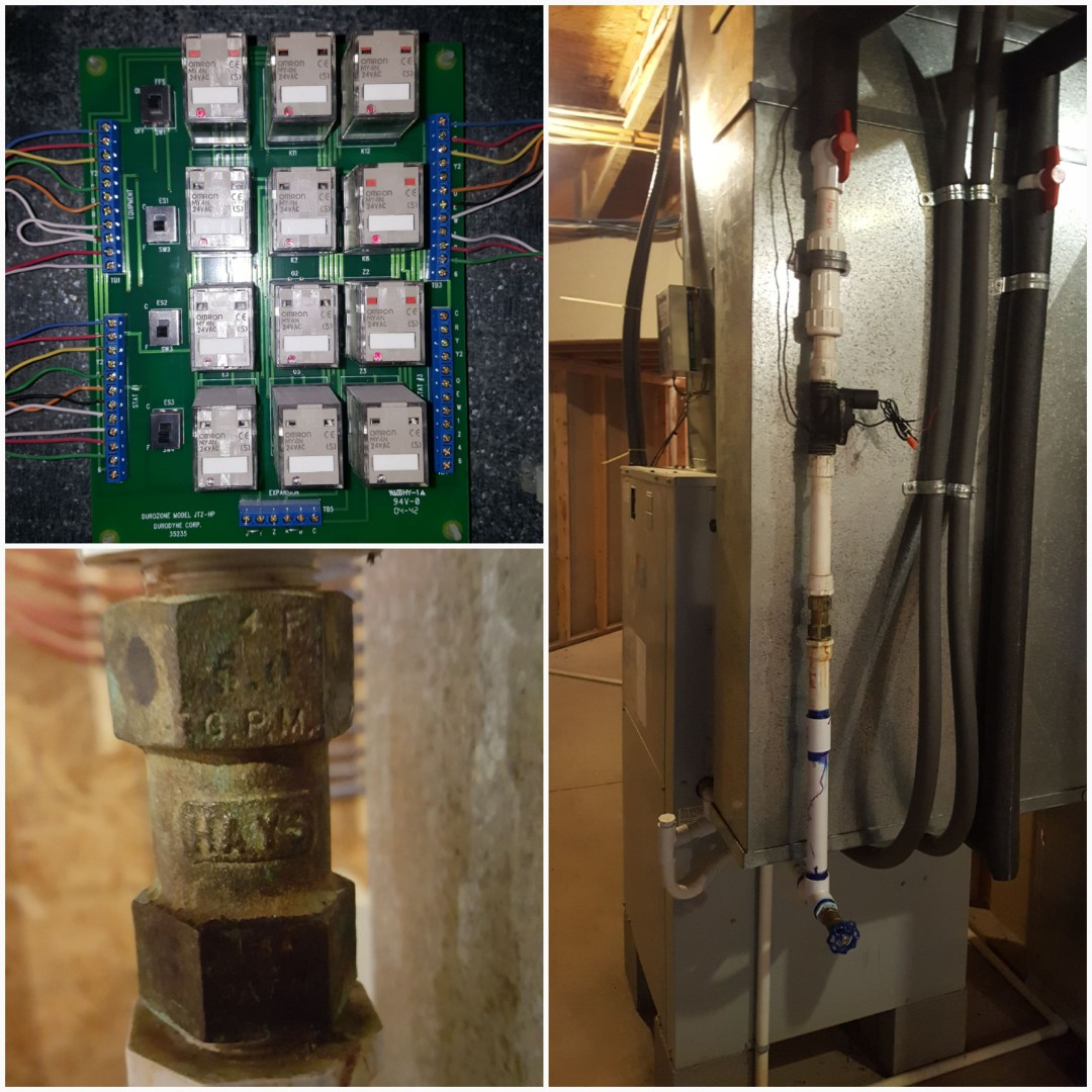 Hilliard, OH - Waterfurnace geothermal valve and zone control repairs
