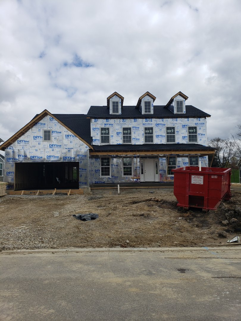 Galena, OH - Hvac installation in new construction home.