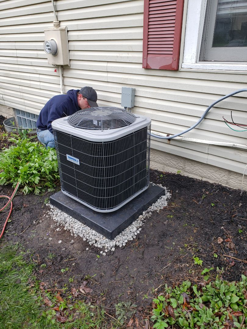 Westerville, OH - Installing a new tempstar system