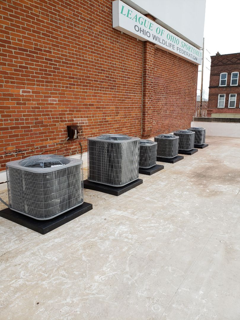 Columbus, OH - Installing 6 air conditioners today