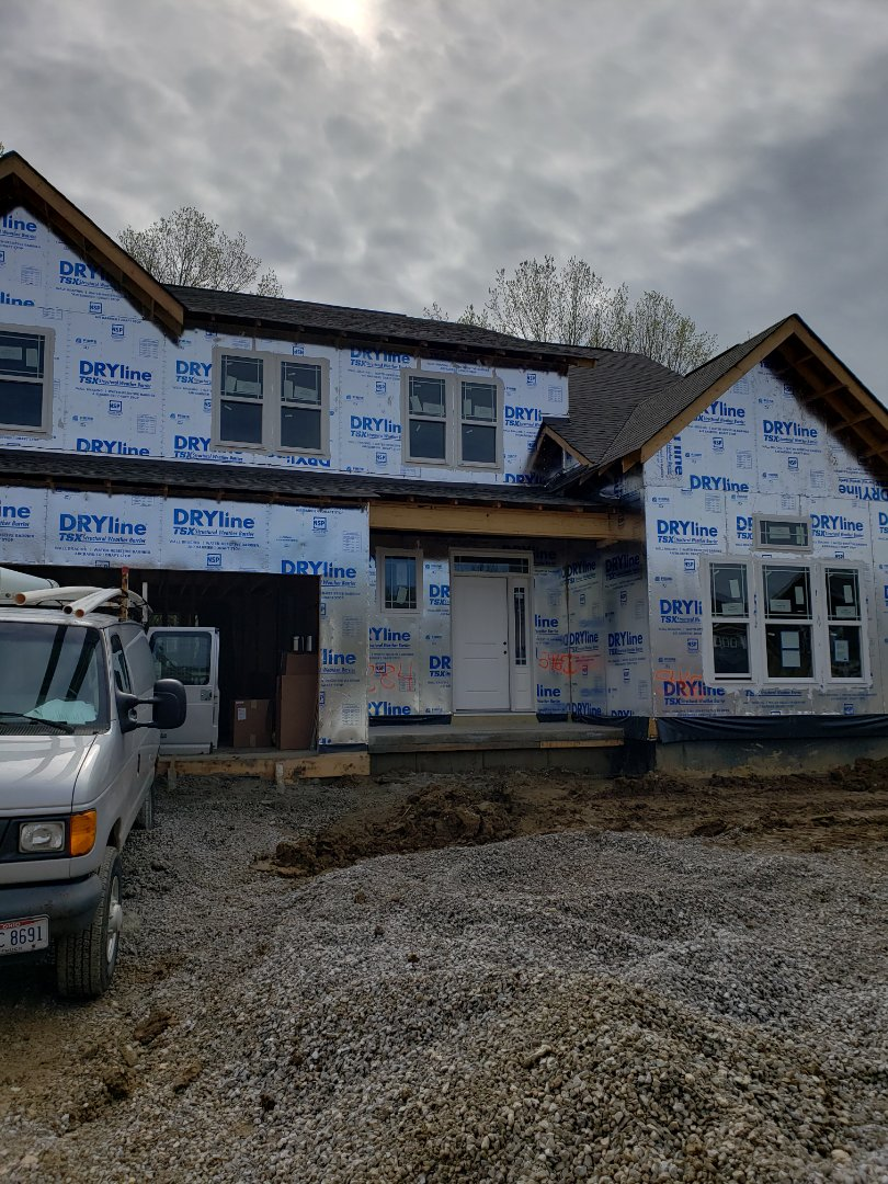 Galena, OH - Furnace and ductwork installation in new construction Fischer home.
