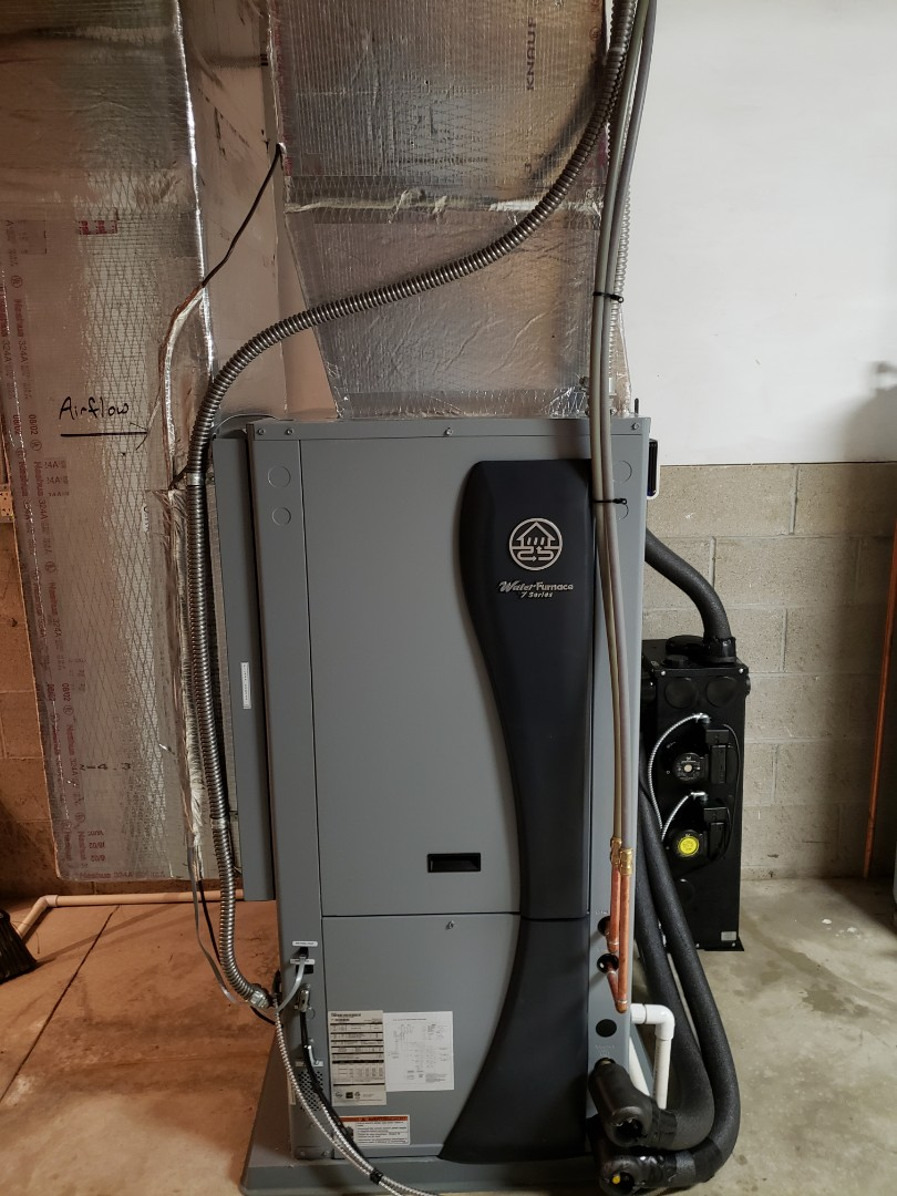 Delaware, OH - Installing a new series 7 waterfurnace geothermal