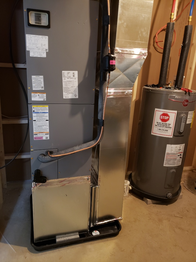 Columbus, OH - Install Tempstar airhandler and heatpump