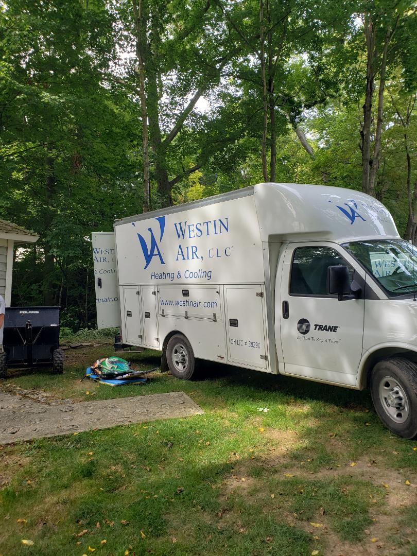 Delaware, OH - Mitsubishi installation.