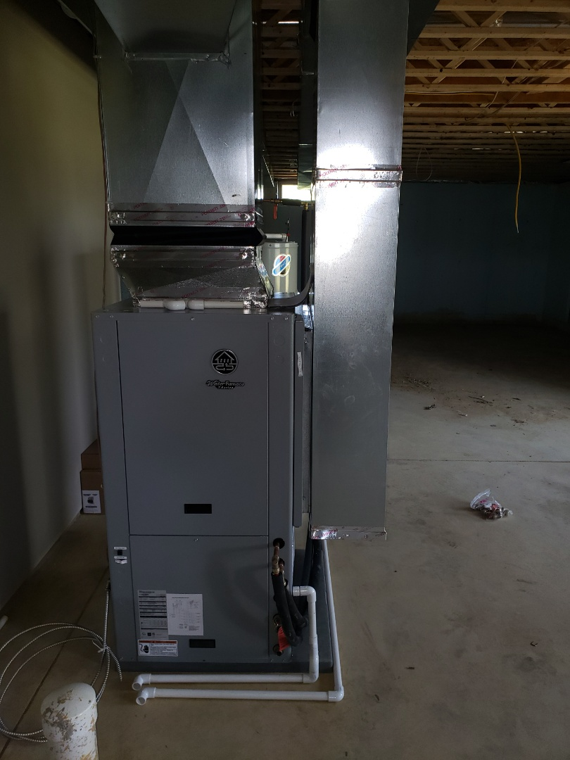 Sunbury, OH - Installing a waterfurnace geothermal system