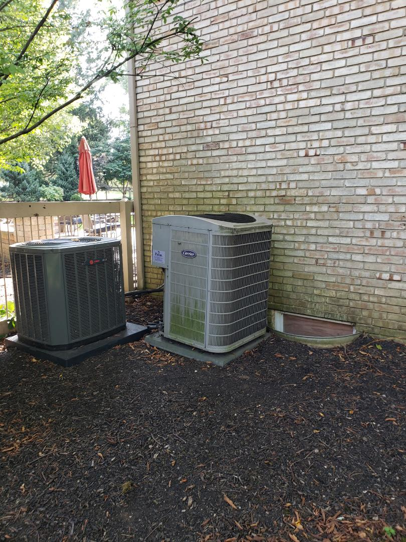 Columbus, OH - Trane AC installation.