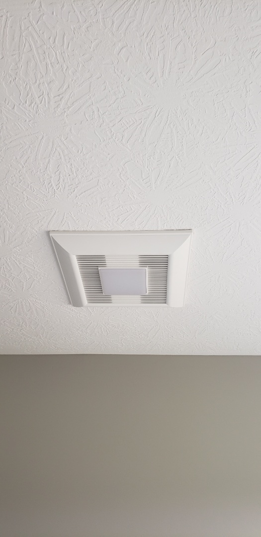 Columbus, OH - Installing a Panasonic Whispergreen exhaust fan in house near Westerville Ohio