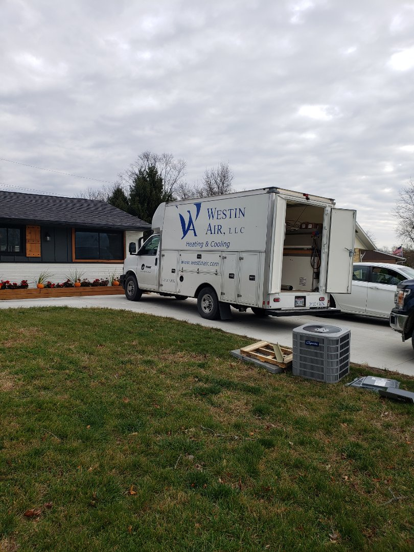 Westerville, OH - Trane furnace installation.