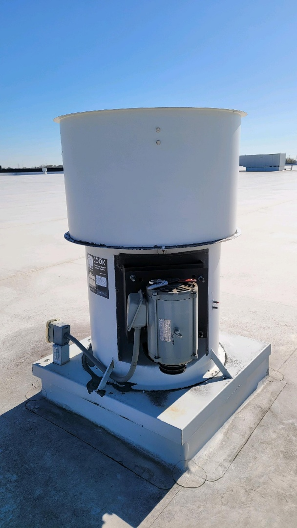 Johnstown, OH - Industrial exhaust fan repairs in New Albany.