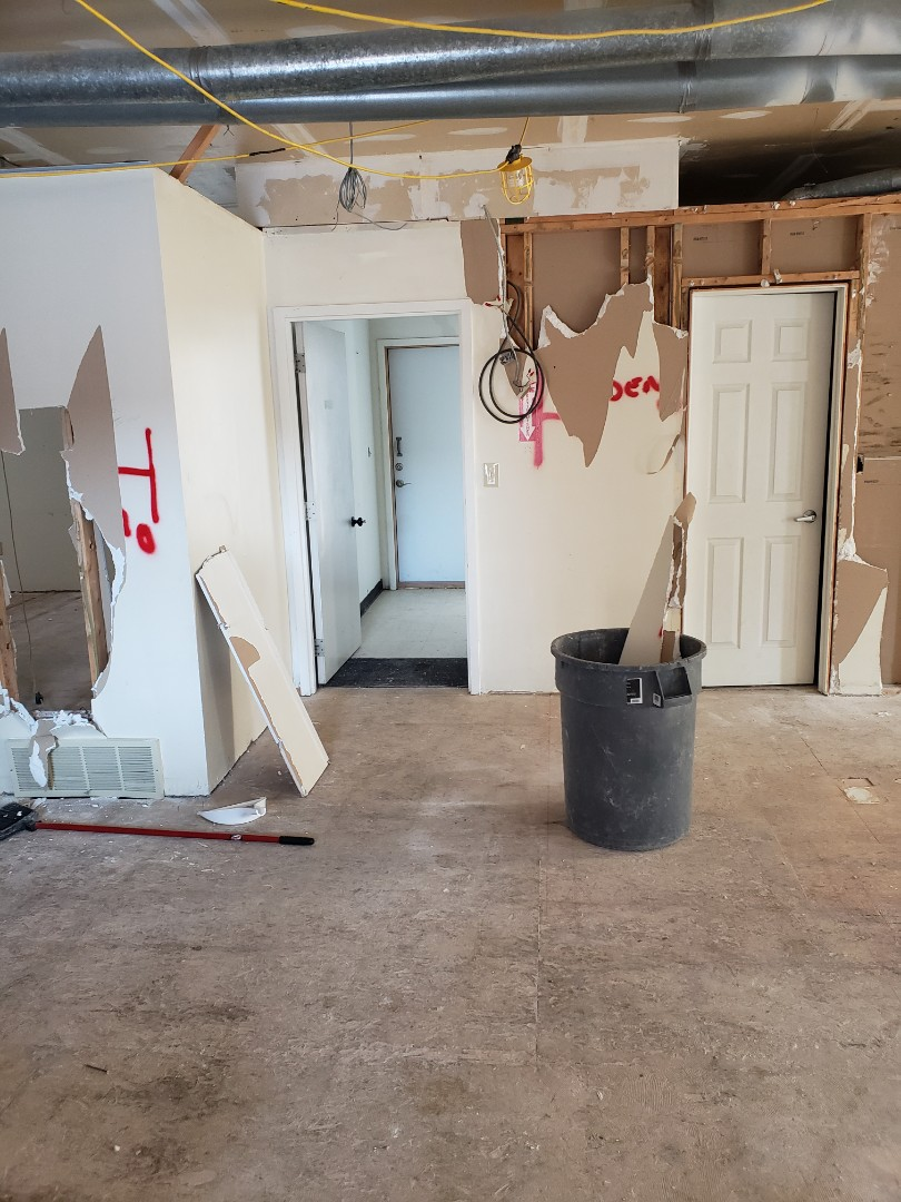 Dublin, OH - Trane furnace replacement for office building remodel.