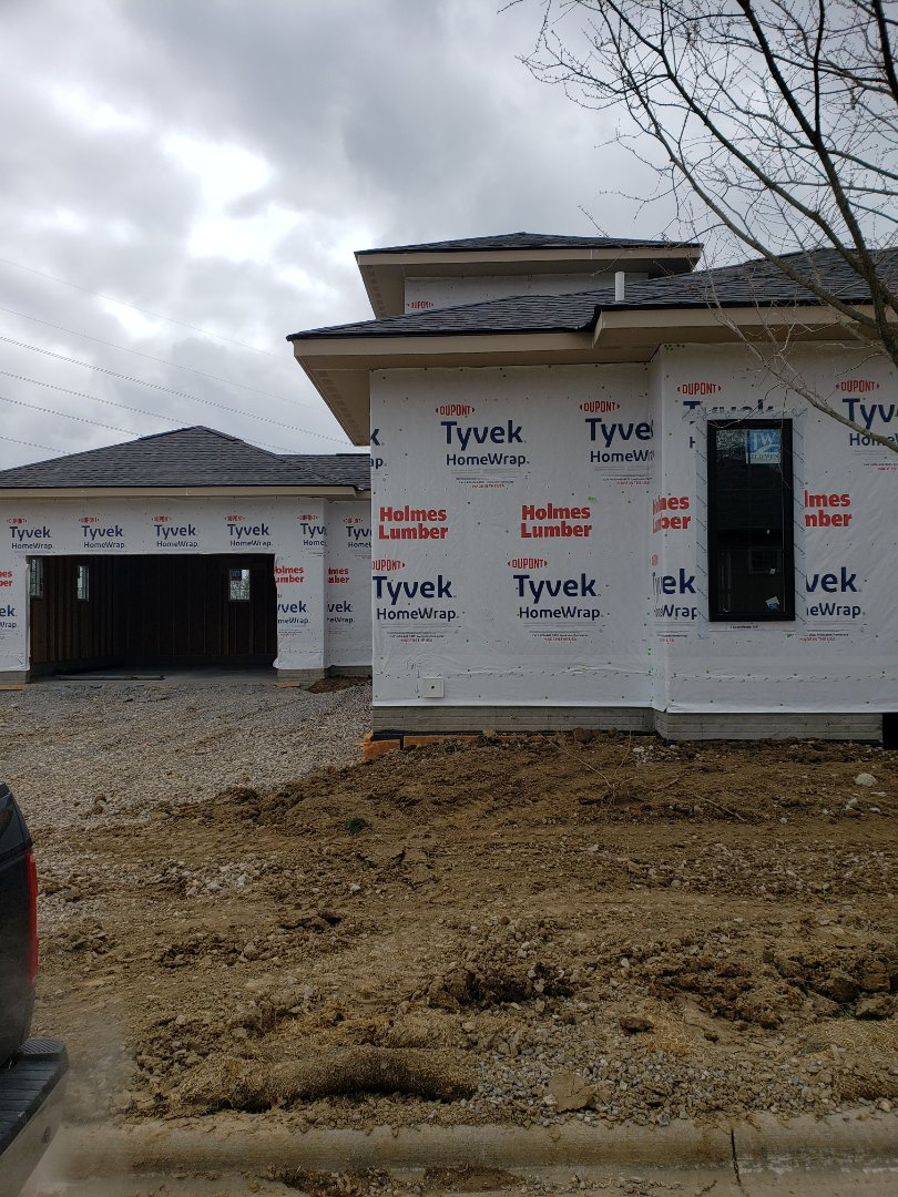 Carrier furnace installation in a 3 Pillar new construction home.