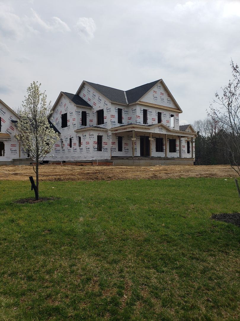 Delaware, OH - Duct work installation in a beautiful 3 Pillar new construction home.