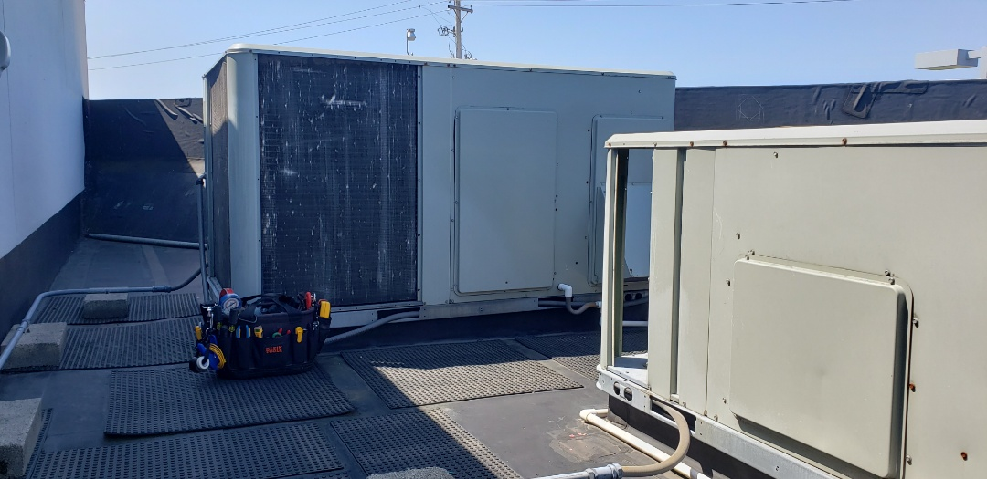 Columbus, OH - Service call on a Trane commercial HVAC system