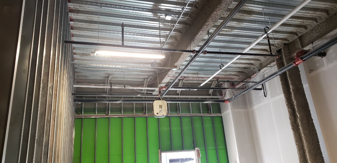 Preparing for ductwork installation