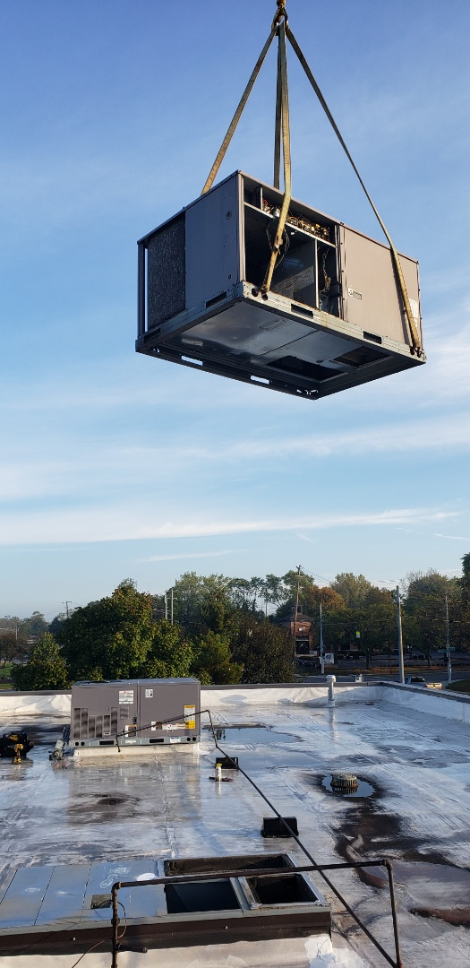 Westerville, OH - Carrier HVAC RTU replacement in Westerville Ohio