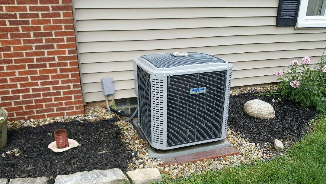 Gahanna, OH - Tempstar TX 5600 high-efficiency Purob cooling system Maintenance adjustments Agler Road Gahanna Ohio43230
