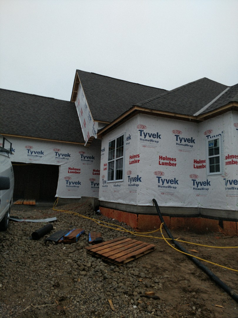 Dublin, OH - New construction home installation for 3 Pillar Homes in Tartan West near Dublin.