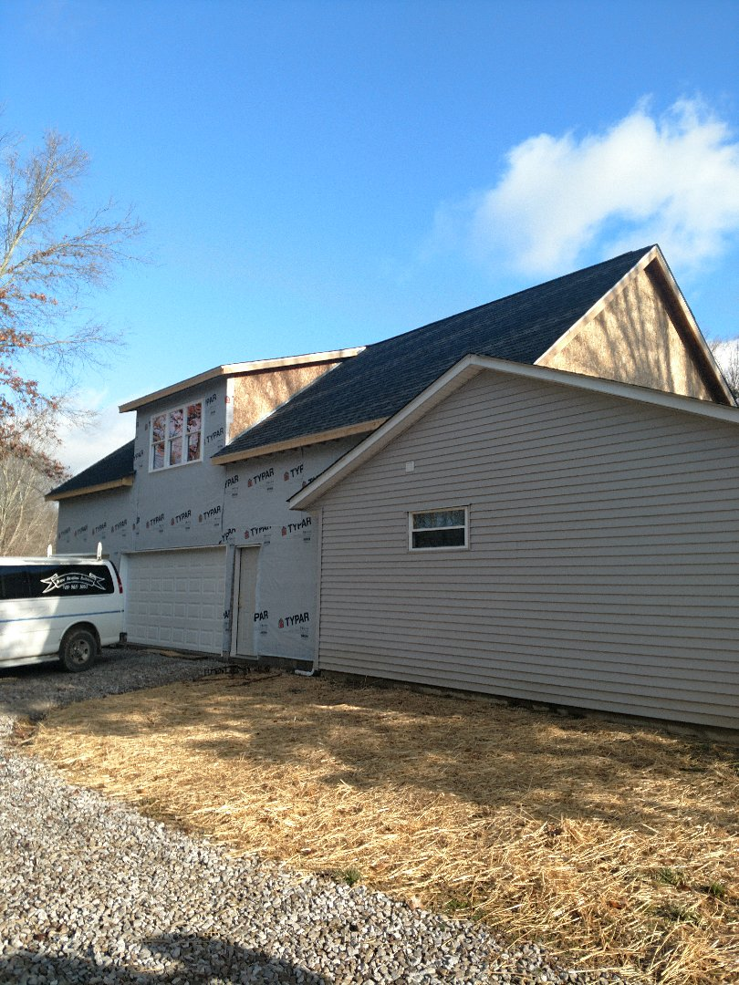 Sunbury, OH - Installing Mitsubishi ductless system in home addition near Sunbury.