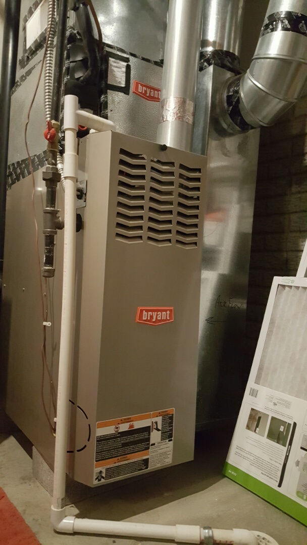 New Albany, OH - Bryant Heating and Cooling. Standard efficiency heating system preventive maintenance tune up and cleaning. Lifestyle communities Colonial Affair Drive New Albany, OH 43054