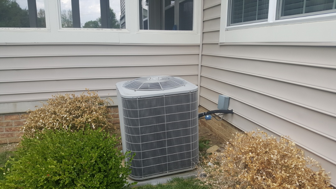 New Albany, OH - Bryant 13 Seer r410a puron leaking refrigerant system. Recommend replacement due to age convention and poor original install techniques Steele Ct New Albany, OH 43054