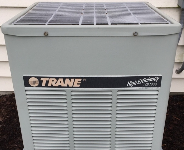 Sunbury, OH - The Trane Cube  high-efficiency XB 1000 R22 10 SEER air conditioning Preventive maintenance Coil cleaning Electronics inspection Refrigerant pressure run test Heartland Meadows Drive Sunbury, OH 43074